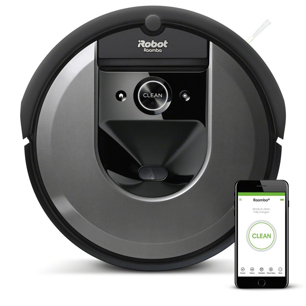 iRobot Aspirateur robot i7+ connecté+ - i755840 - Noir