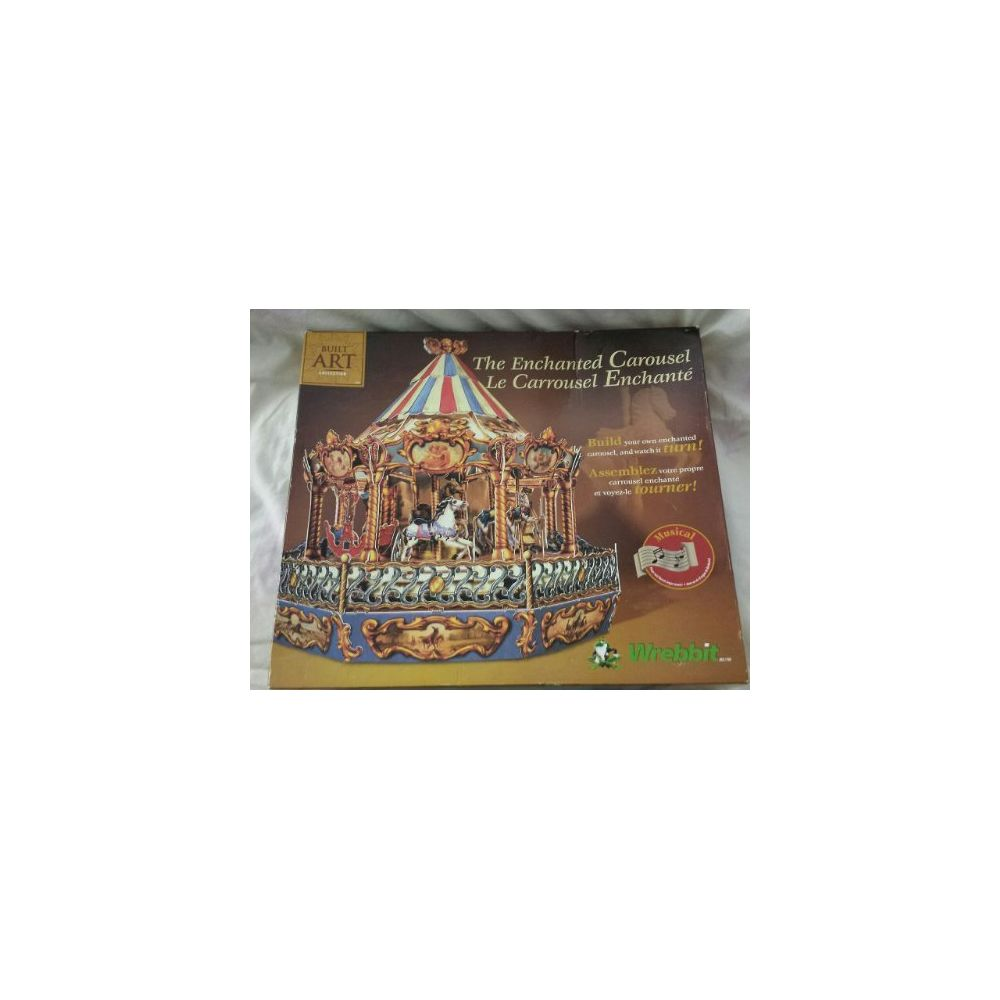 Wrebbit Carousel the Enchanted Carousel KIT By Built Art Collection