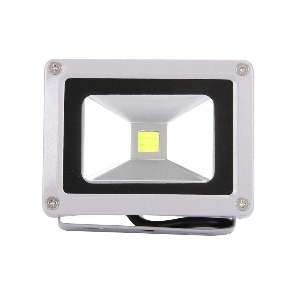 Wewoo Projecteur LED 10W 900LM haute puissance IP65 imperméabilisent la lampe de de LED, CA 85-265V, prise de l'UE lumière bla