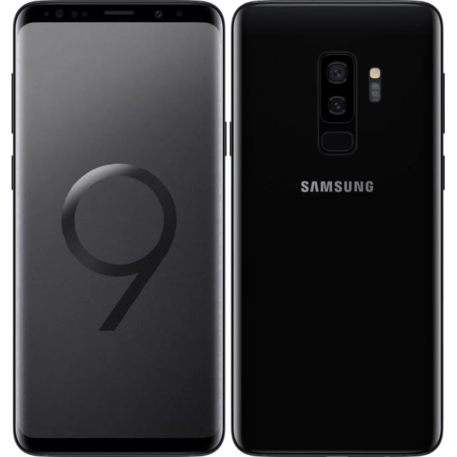 Samsung - Galaxy S9 Plus - 64 Go - Noir Carbone - Smartphone Android 64 go