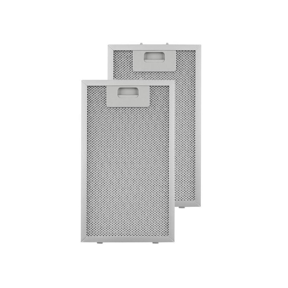 Klarstein Klarstein filtre à graisse en aluminium 18,5 x 31,8 cm Filtre de rechange Klarstein