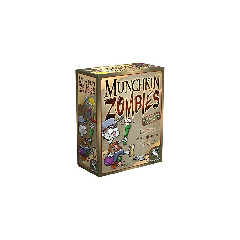 Pegasus Spiele Pegasus Spiele 17138G - Munchkin Zombies 1A + 2
