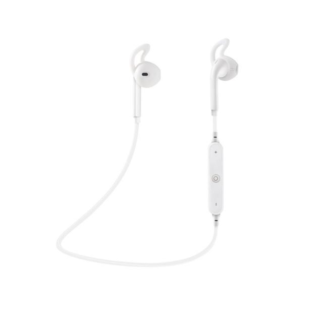 marque generique - YP Select Sports Bluetooth Headset S6 Stereo 4.2 Dual-Ear In-Ear Écouteurs Blanc - Ecouteurs intra-auriculaires