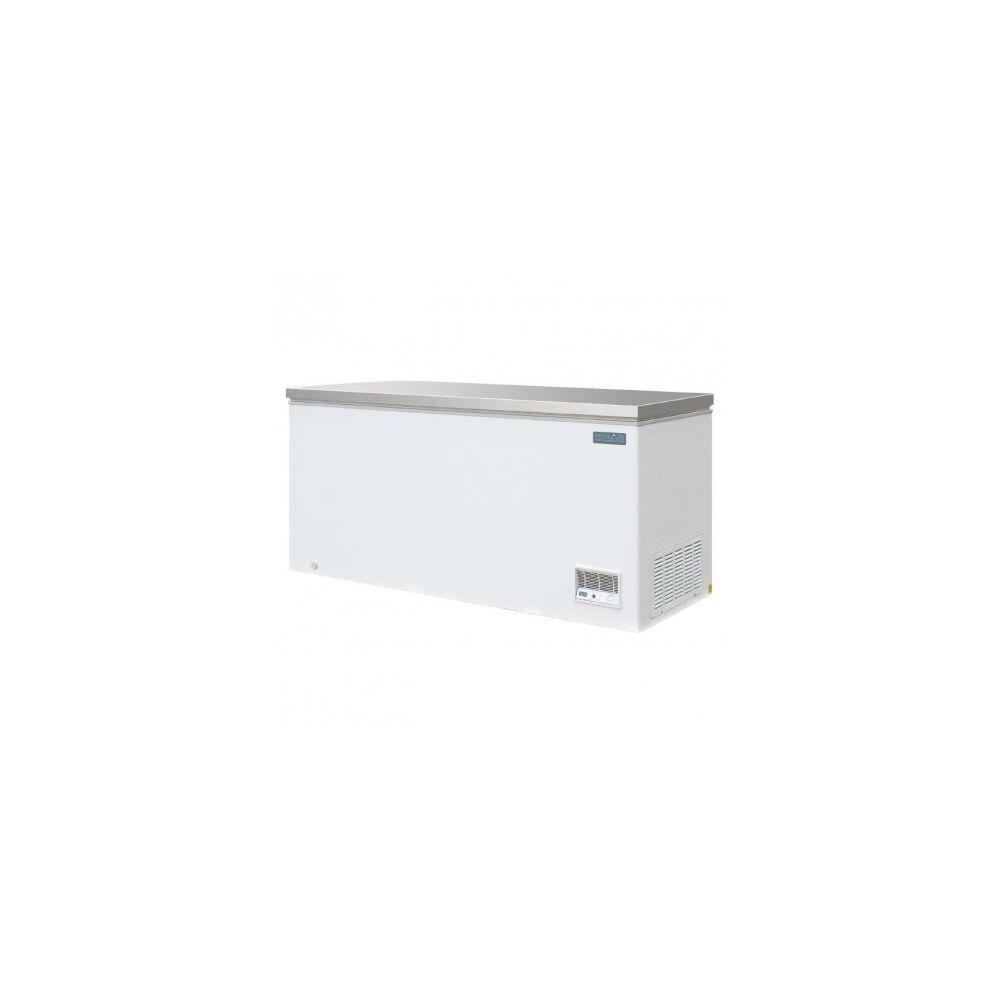 Polar Congelateur Coffre avec Couvercle Inox - 516 Litres - Polar - R290
