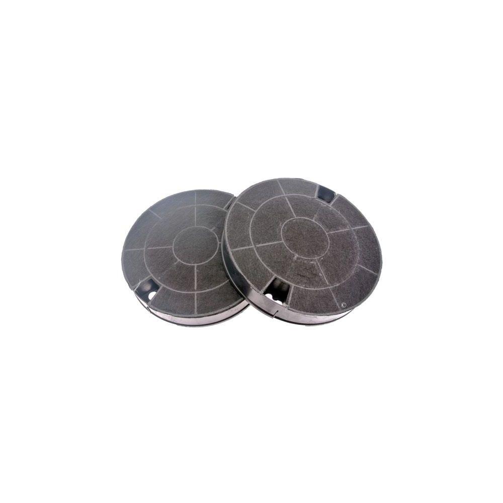 whirlpool Lot de 2 filtres charbon rond type AMC912