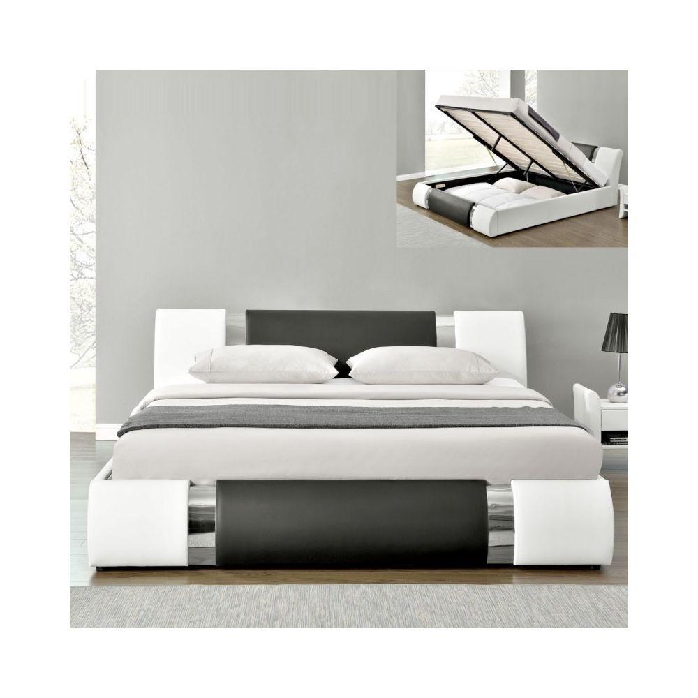 Meubler Design Lit coffre design ATLANTICs - 160x200