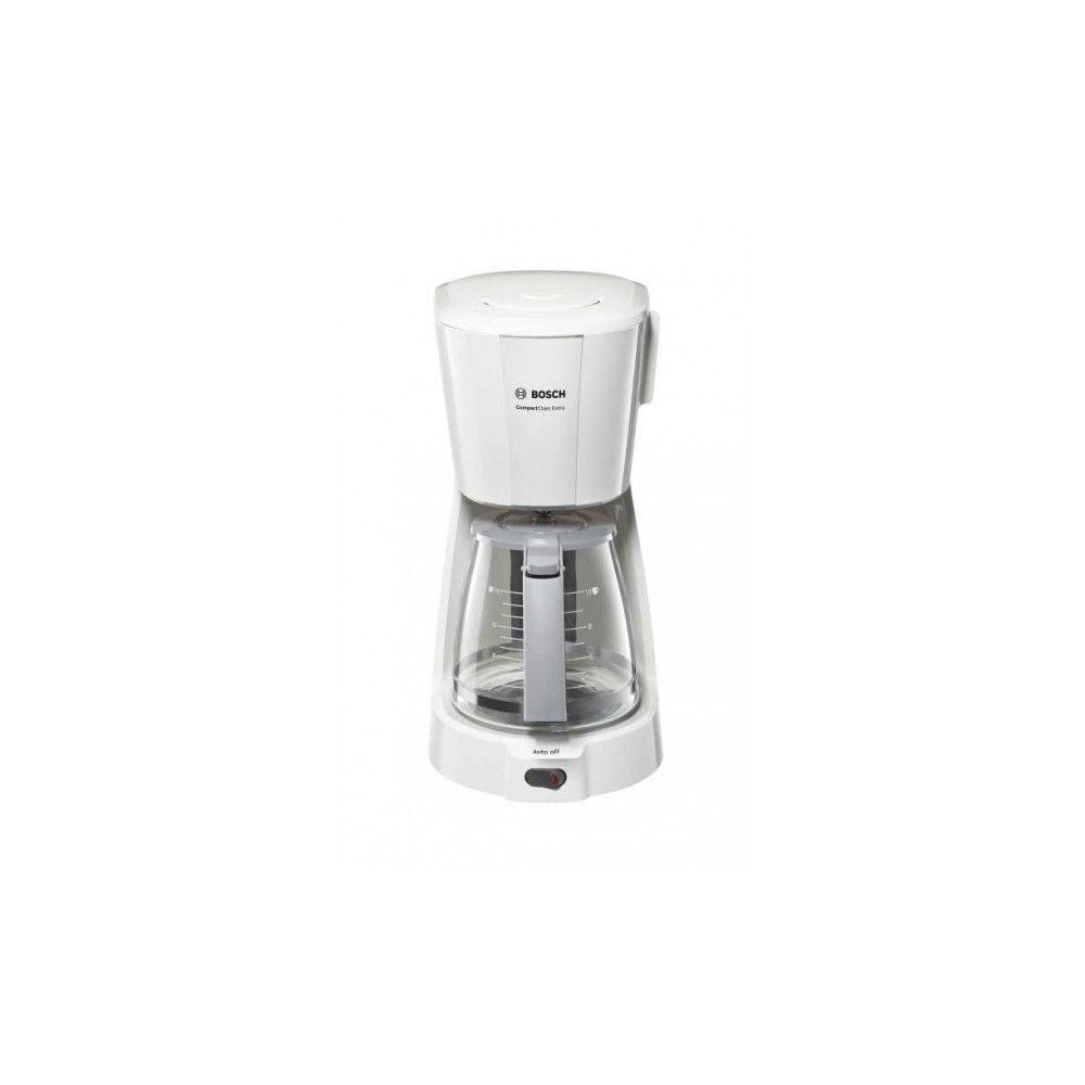 Bosch BOSCH Cafetière Filtre Compact Class 15 Tasses Blanche TKA3A031