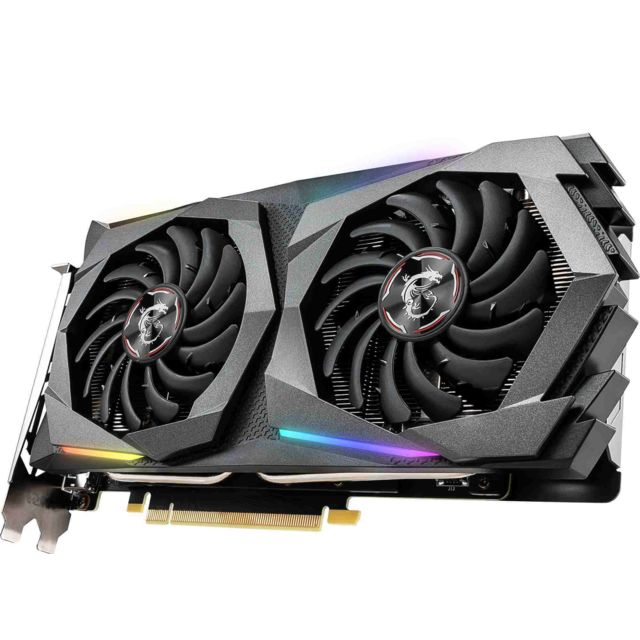 Msi Geforce GTX 1660 Super - GAMING X - 6 Go
