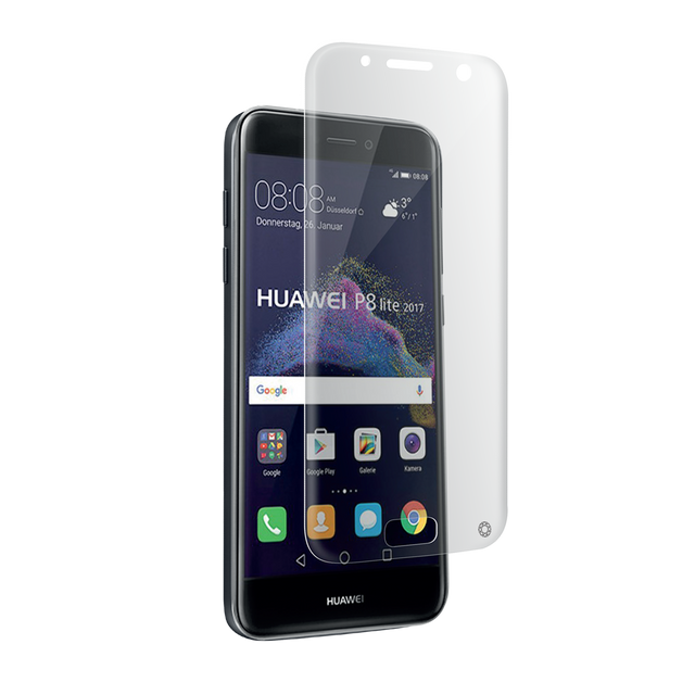 Force Glass - Verre trempé Huawei P8 Lite 2017 - Transparent Force Glass   - Protection écran smartphone