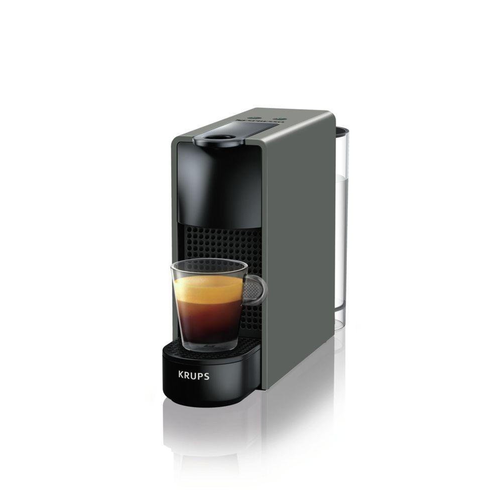 Krups Cafetière Nespresso Essenza Mini XN1108 Gris intense
