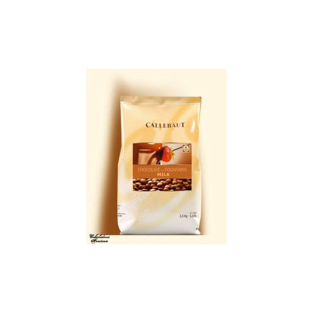 Beneo Callebaut ? chocolat au lait pour les fontaines 2,5 kg