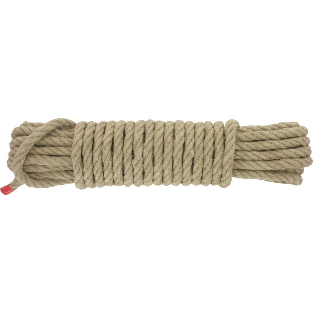 Corderies Tournonaises Corde en chanvre - 10 Mètres - 10 mm - CORDEIE TOURNANAISE