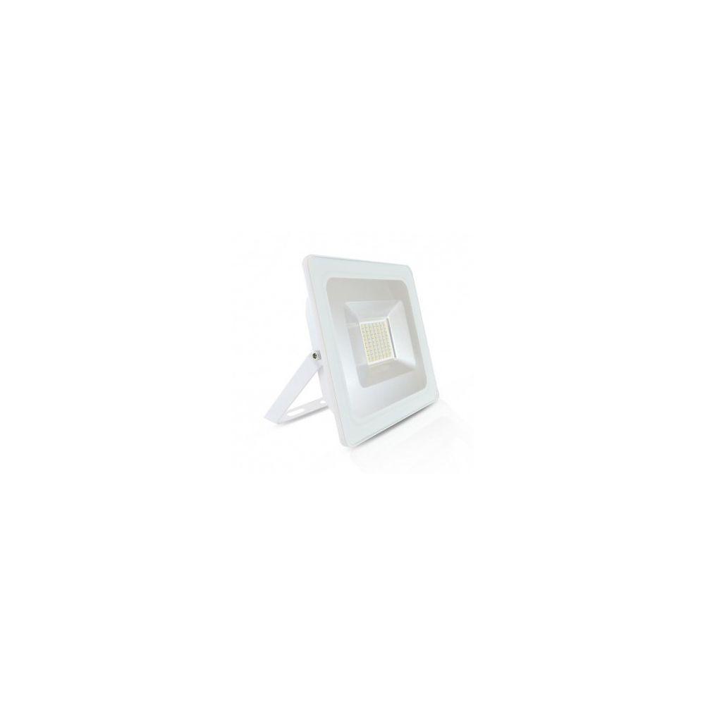 Vision-El Projecteur Exterieur LED Plat Blanc 50W 6000 K