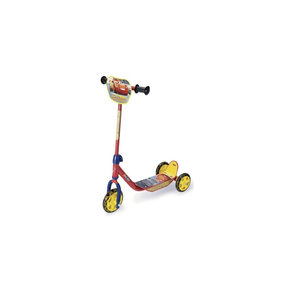 Smoby Smoby - Patinette 3 roues Flash McQueen Cars 3 Disney - Trottinette 3 ans+