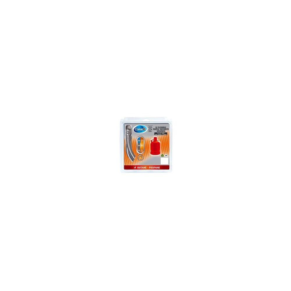 Indesit Tuyau de gaz inox butane - propane de 2 mètres pour cuisinière indesit