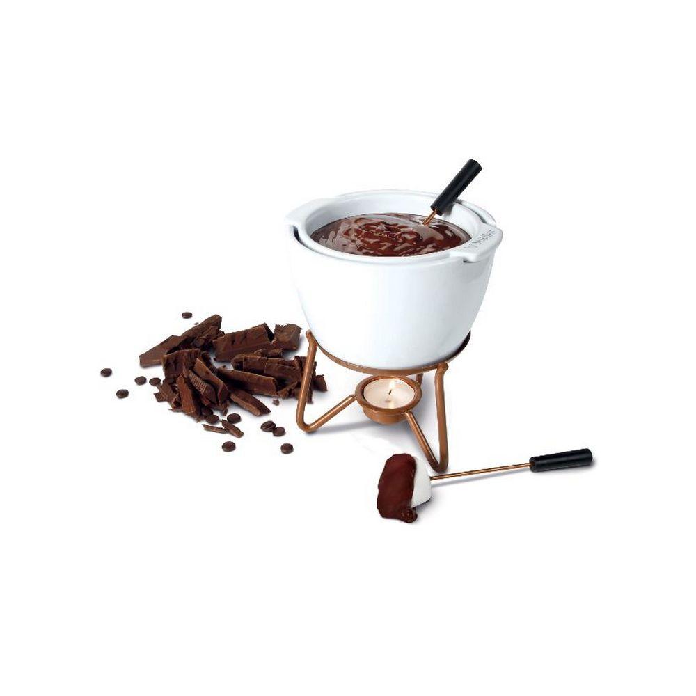 Boska boska - service à fondue chocolat au bain-marie - 0320400