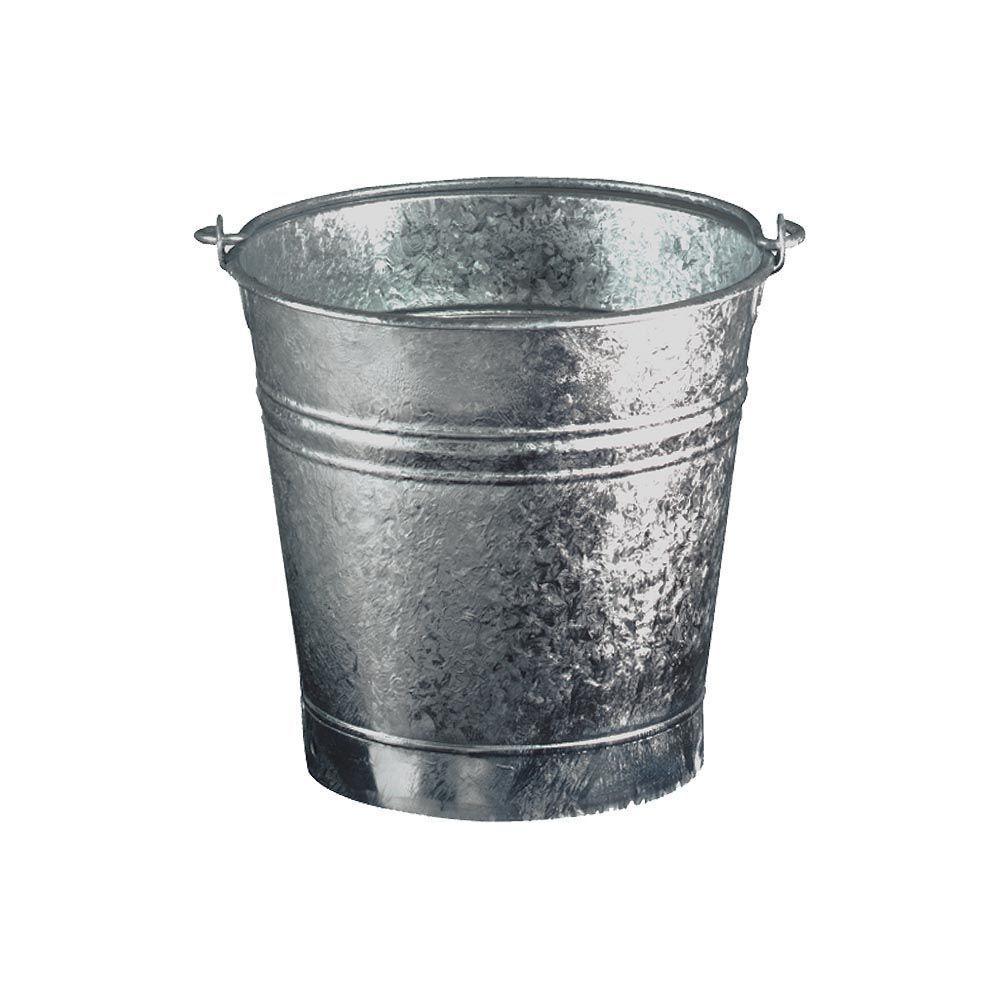 Guillouard Seau en acier galvanisé 9 litres