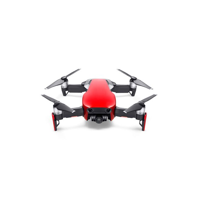 Dji - Mavic Air Fly Combo - Rouge Flamme - Dji