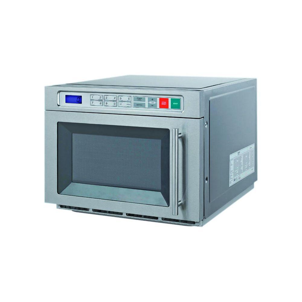 Materiel Chr Pro Four Micro-Ondes Électronique 3 Niveaux de Puissance 1800 W - Stalgast - 30 Litres