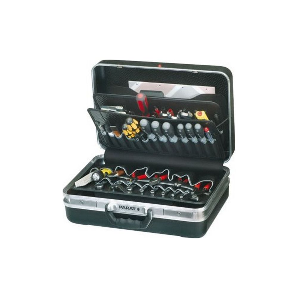 Parat Mallette à outils SILVER/CLASSIC, Dimensions intérieures : 460 x 190 x 310 mm, Volume environ 27 l, Poids 5100 g