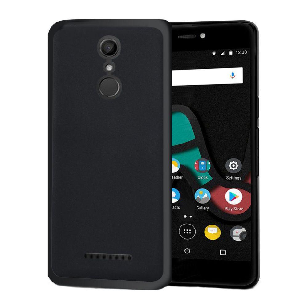 Xeptio - Wiko Upulse Lite 4G - Coque Protection arrière noire smartphone UltimKaz pour Wiko U Pulse Lite 5.2 pouces - Accessoires pochette XEPTIO : ...