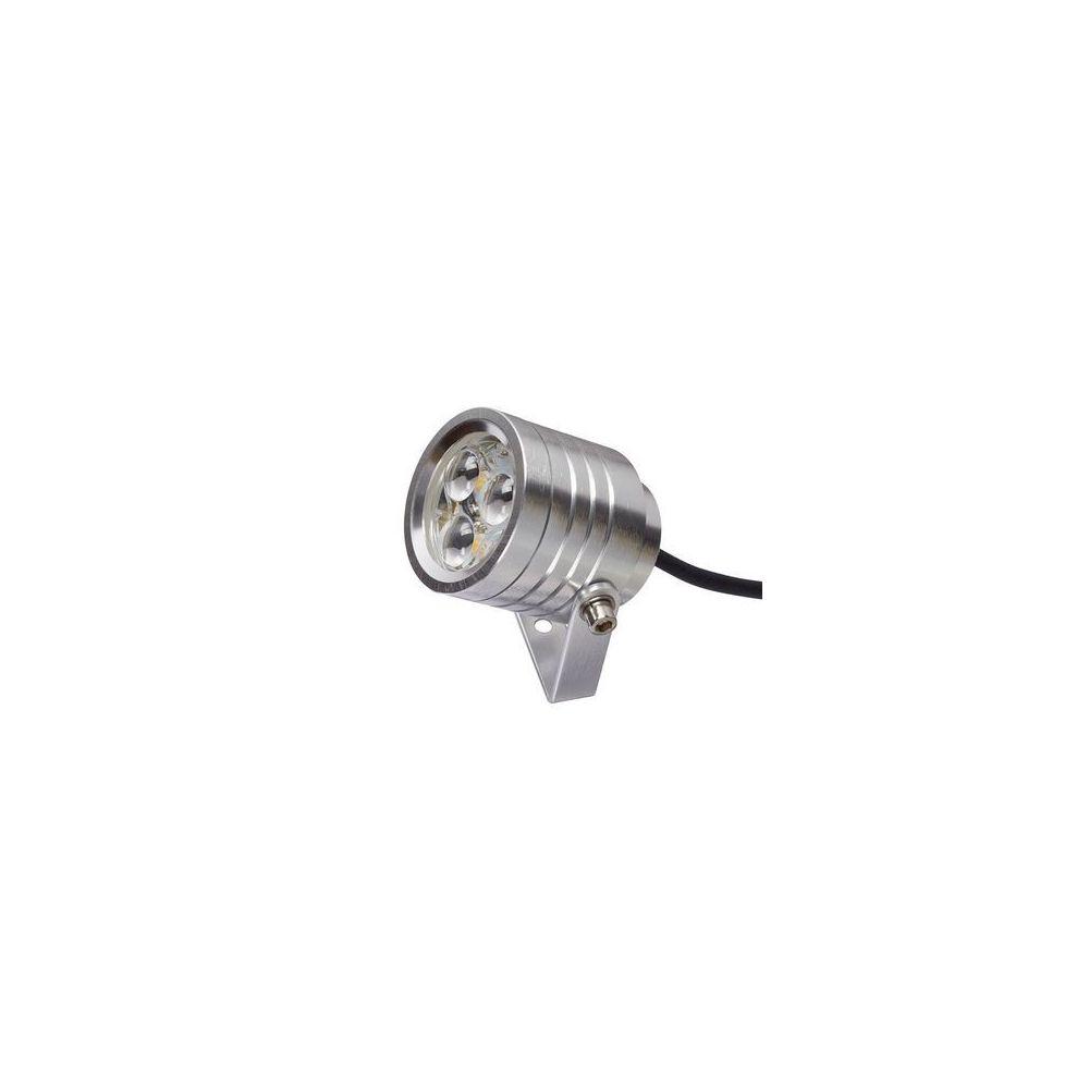 Garden Lights Projecteur Spot Elite LED H 10cm 3x1W Aluminium