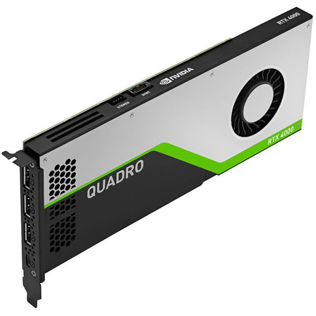 Lenovo - LENOVO ThinkStation NVidia Quadro RTX 4000 8GB GDDR6 with Short Extender - Carte Graphique NVIDIA