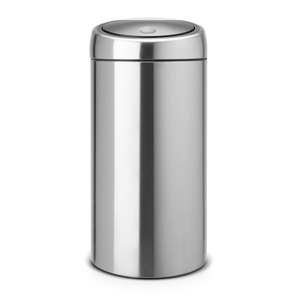 BRABANTIA Poubelle Touch Bin Recycle 2 x 20 litres