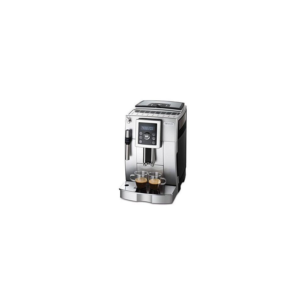 Delonghi DeLonghi ECAM 23420 SB Cafetière automatique à Cappuccino avec buse vapeur Cappuccino Gris/noir