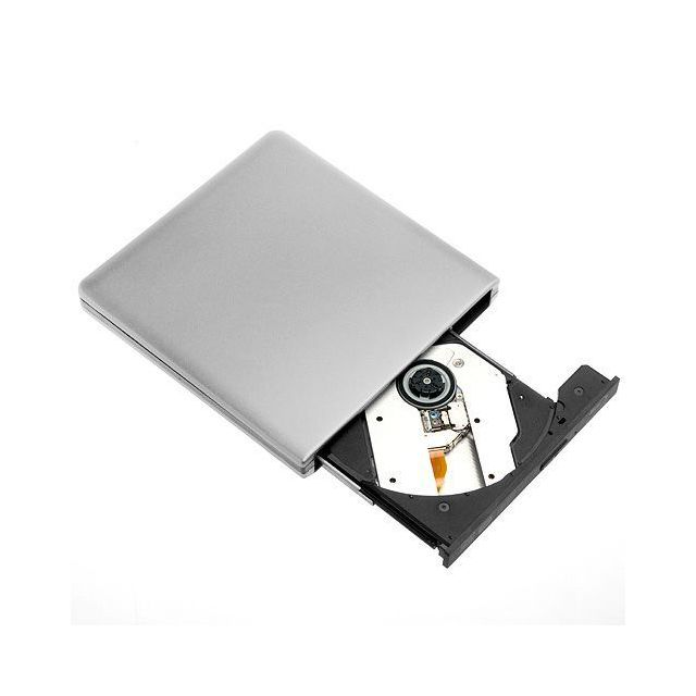 marque generique - Lecteur Externe Ultra Plat Bluray BD CD DVD Blu-ray ROM SuperSpeed USB 3.0 303 - Graveur DVD Interne