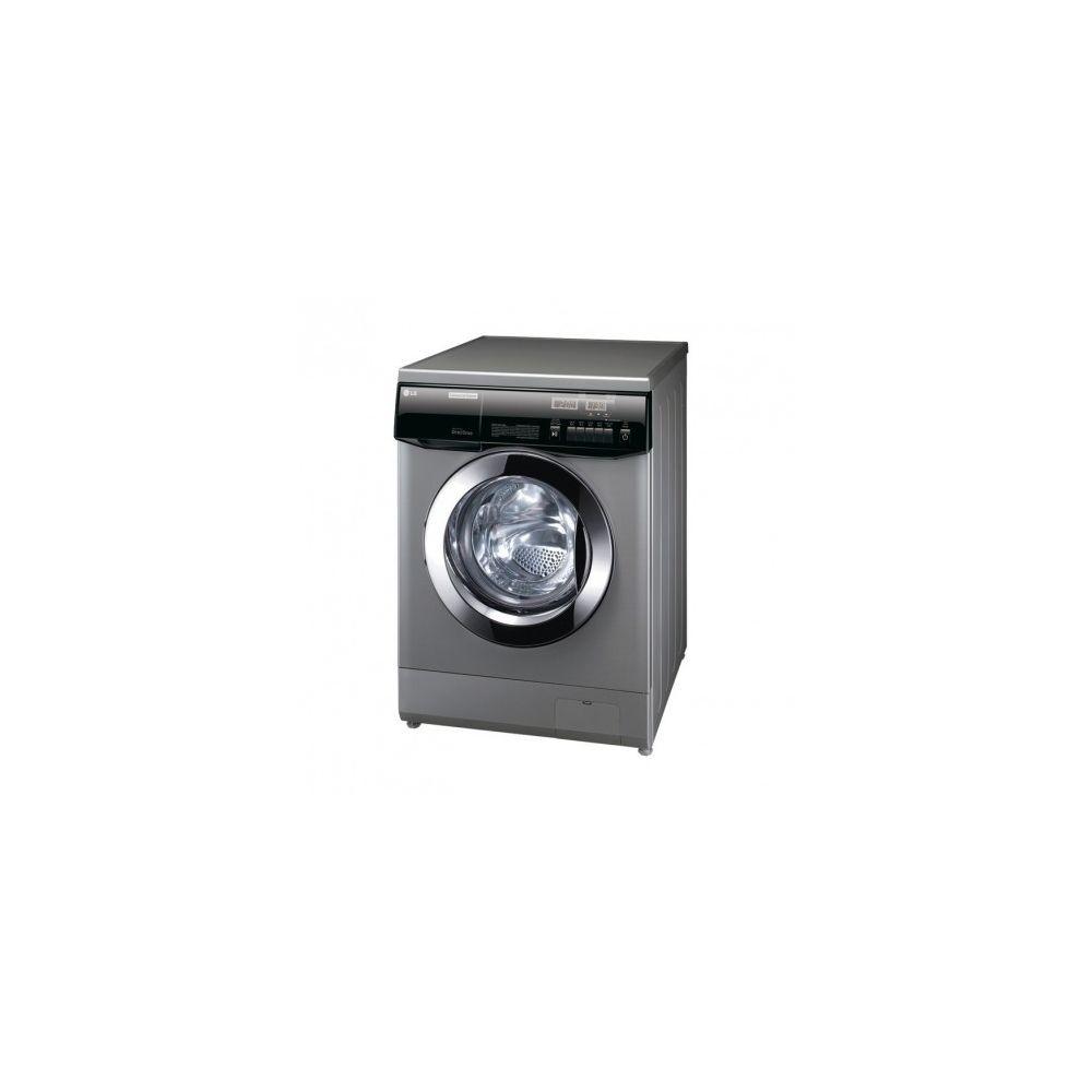LG Lave-linge semi-professionnel 6,5 kg sans résistance - pompe de vidange - eau chaude -