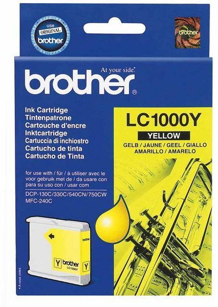 Brother - BROTHER - LC1000Y - Jaune - Brother