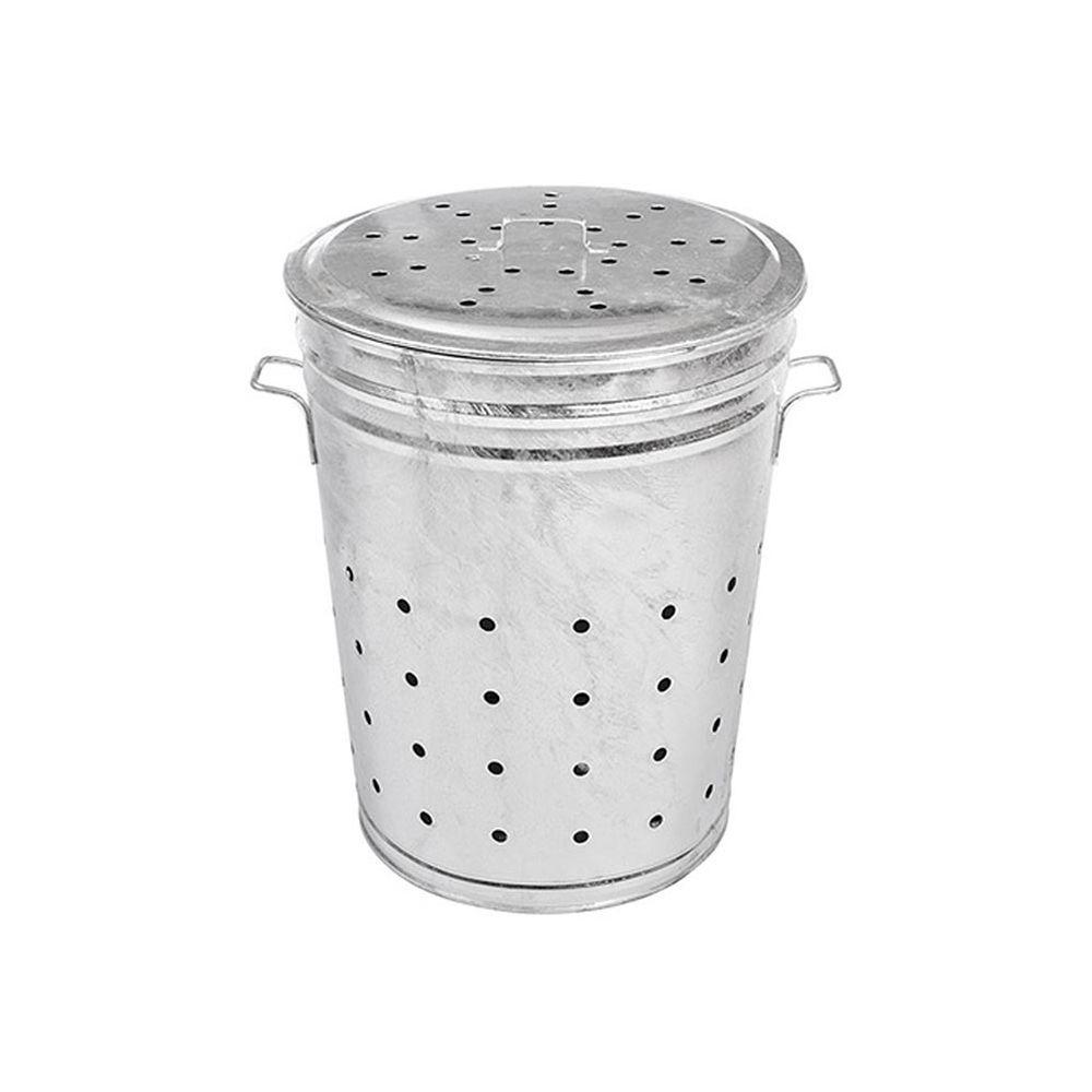 Guillouard Bac multi-usages acier galvanisé 100 litres (grille-herbe, composteur...)