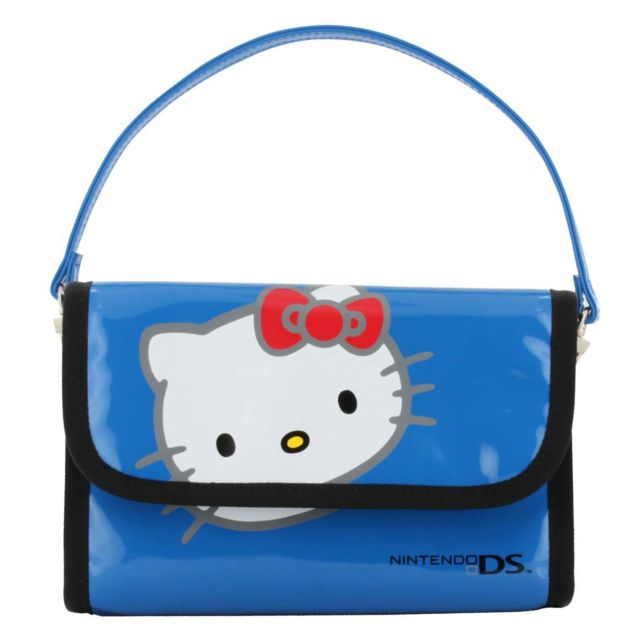 Bigben Interactive - Bigben Interactive - Sacoche de transport bleue Hello Kitty pour Nintendo 3DS - PS Vita