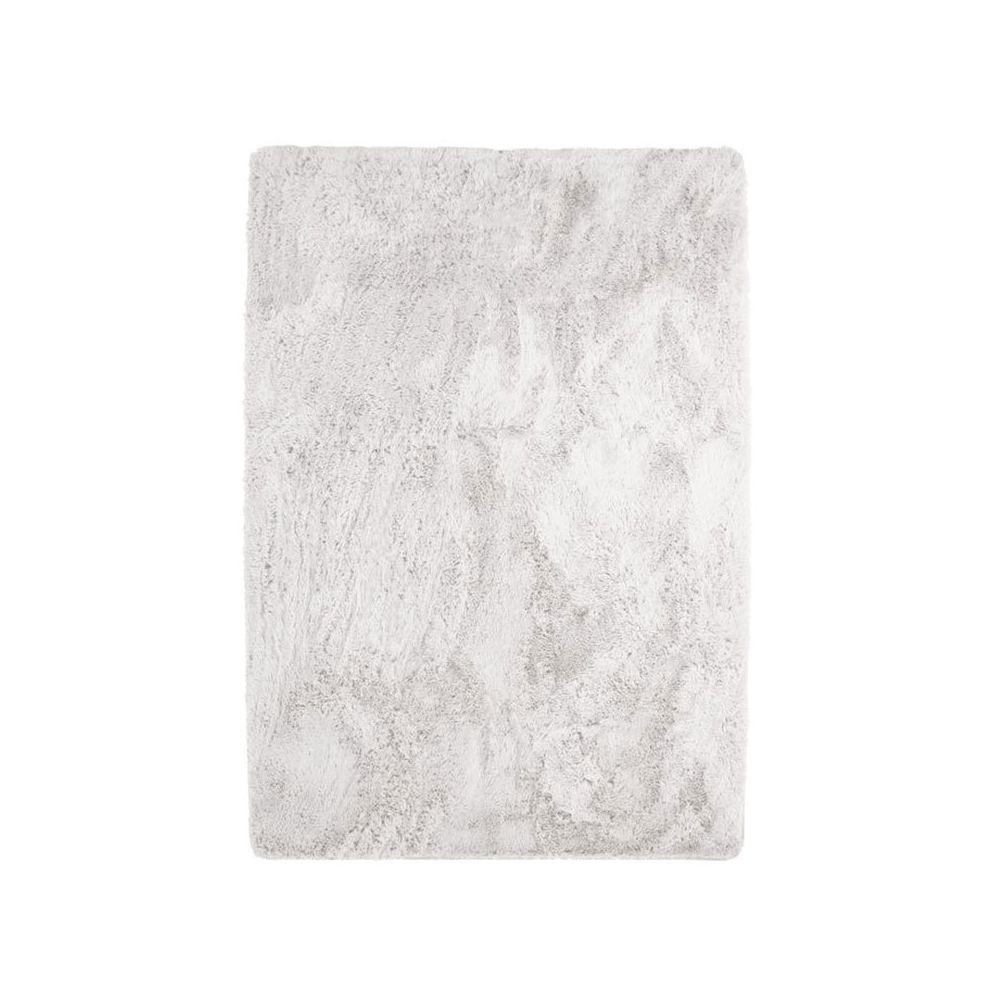 Mon Beau Tapis NEO YOGA - Tapis à poils longs extra-doux blanc 190x290