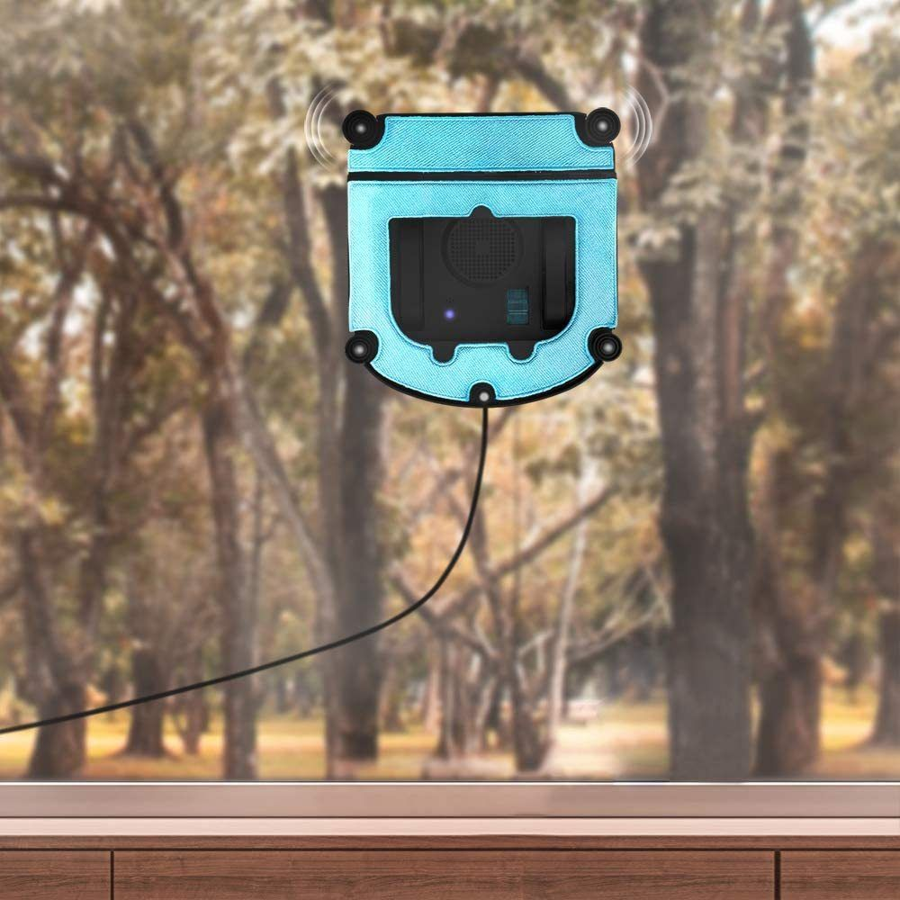 Cecotec Robot lave-vitres intelligent télécommandé avec APP Control noir