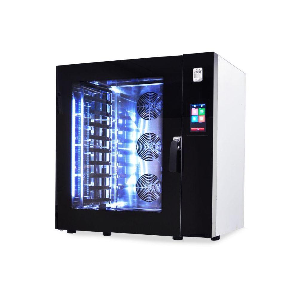 Materiel Chr Pro Four Mixte Touch Screen 6 ou 10 niveaux 600x400 - Vesta - 10 plateaux 600x400