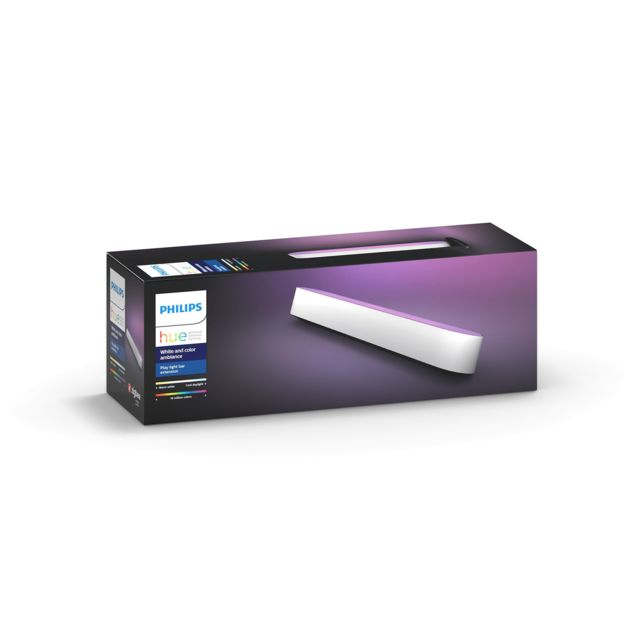 Philips Hue - White & Color - Play light bar Extension - Blanc Philips Hue   - Lampe connectée