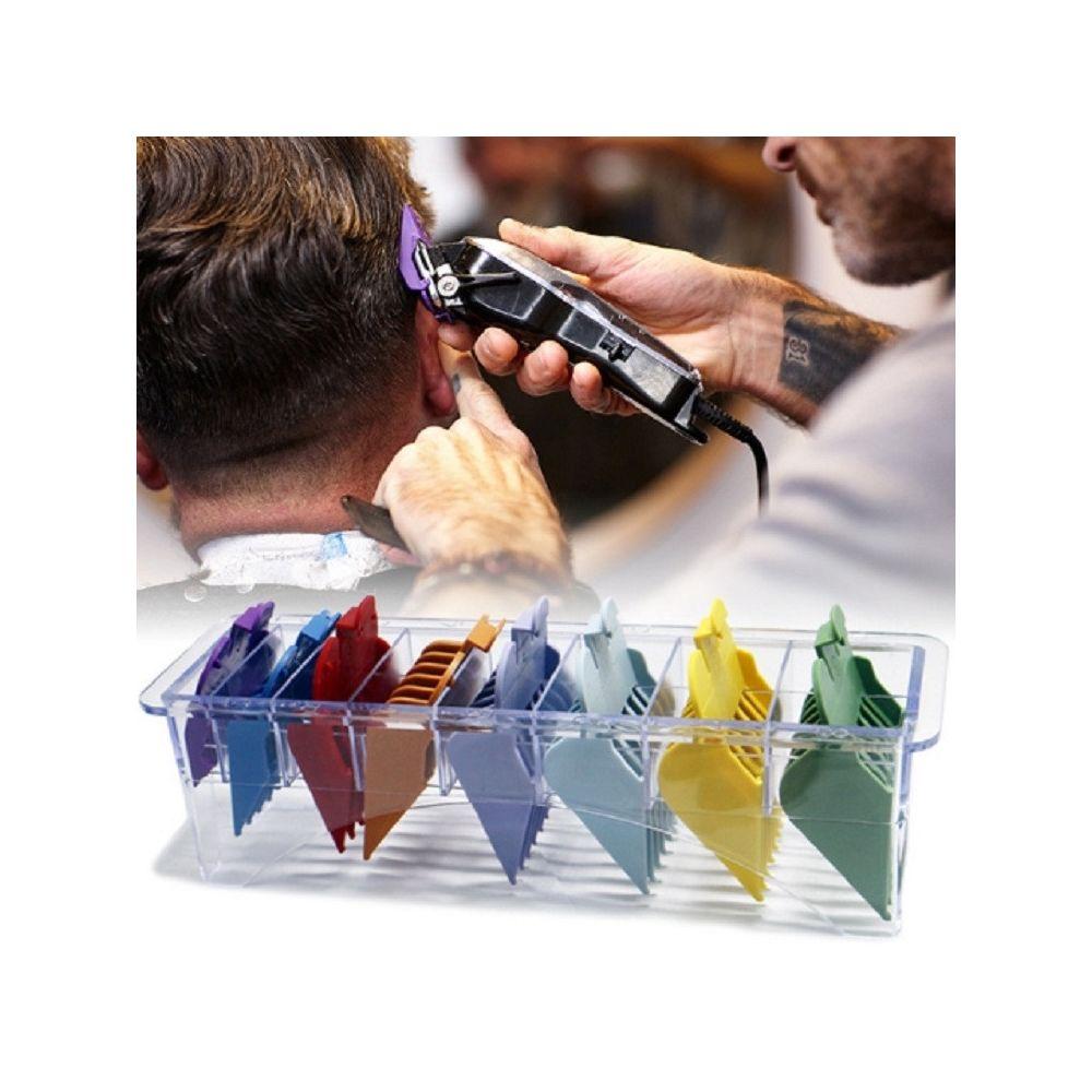 Wewoo 8 en 1 Power Generation Peigne de tondeuse spécial de limite pour cheveux Étrier universel de ultra-mince