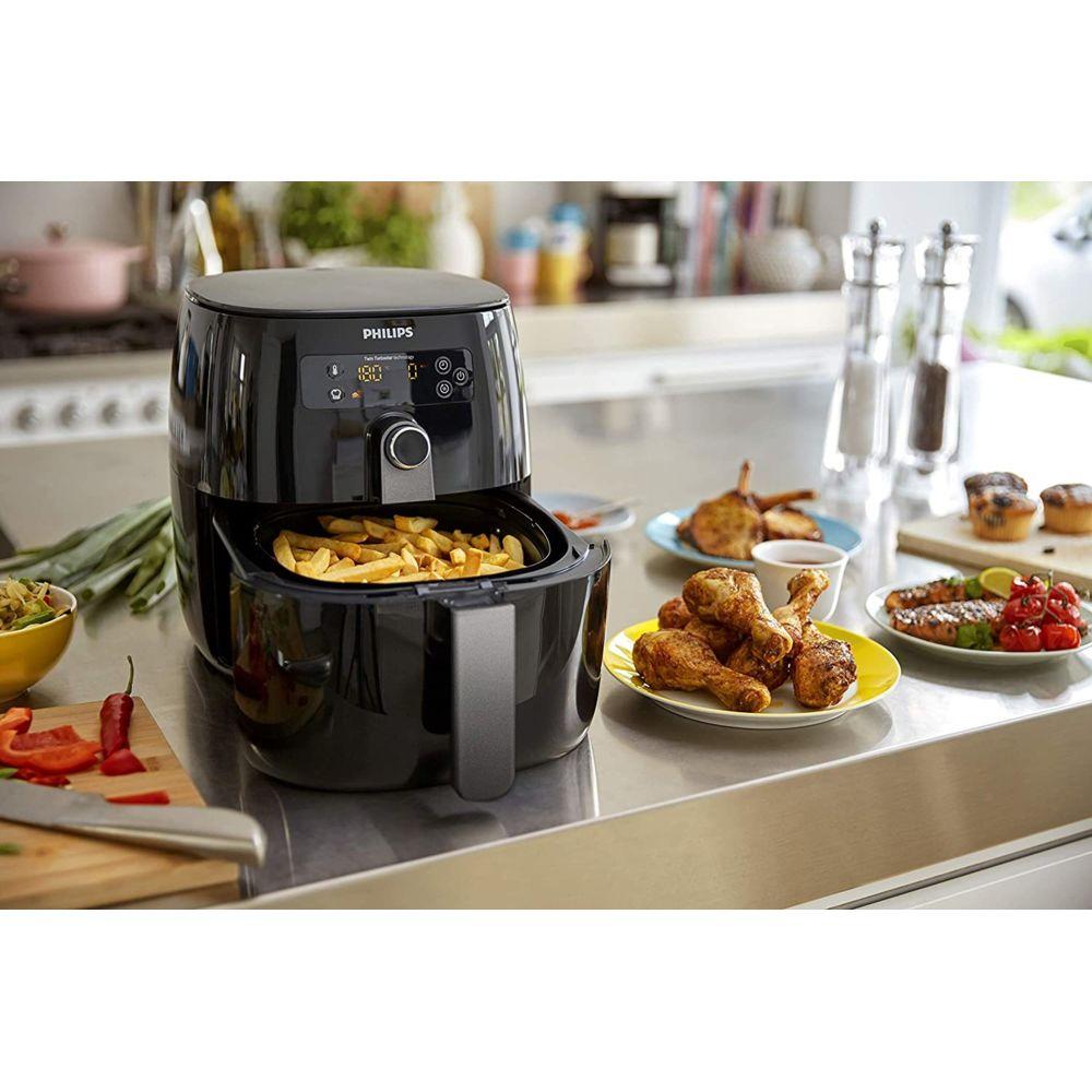 Philips friteuse électrique airfryer 1500W noir gris