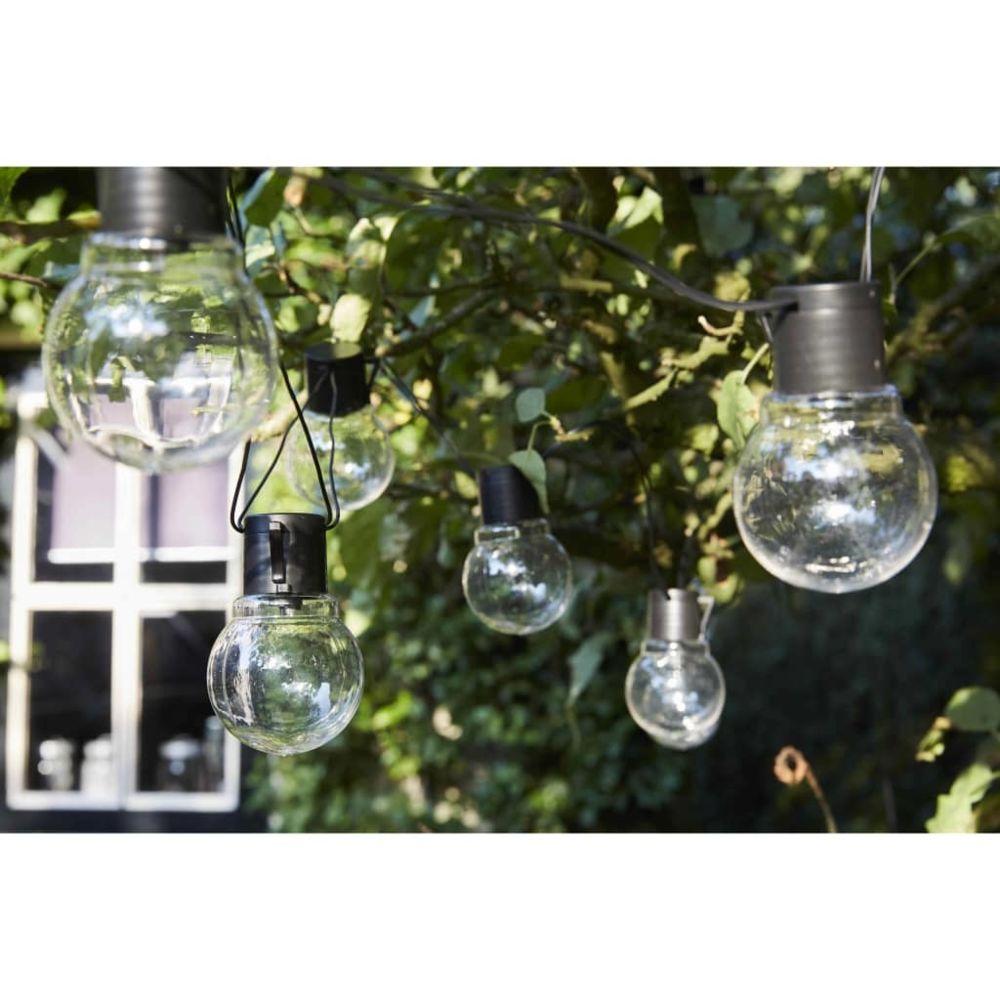 Luxform Luxform Guirlande lumineuse sur batterie 10 LED Menorca Transparent
