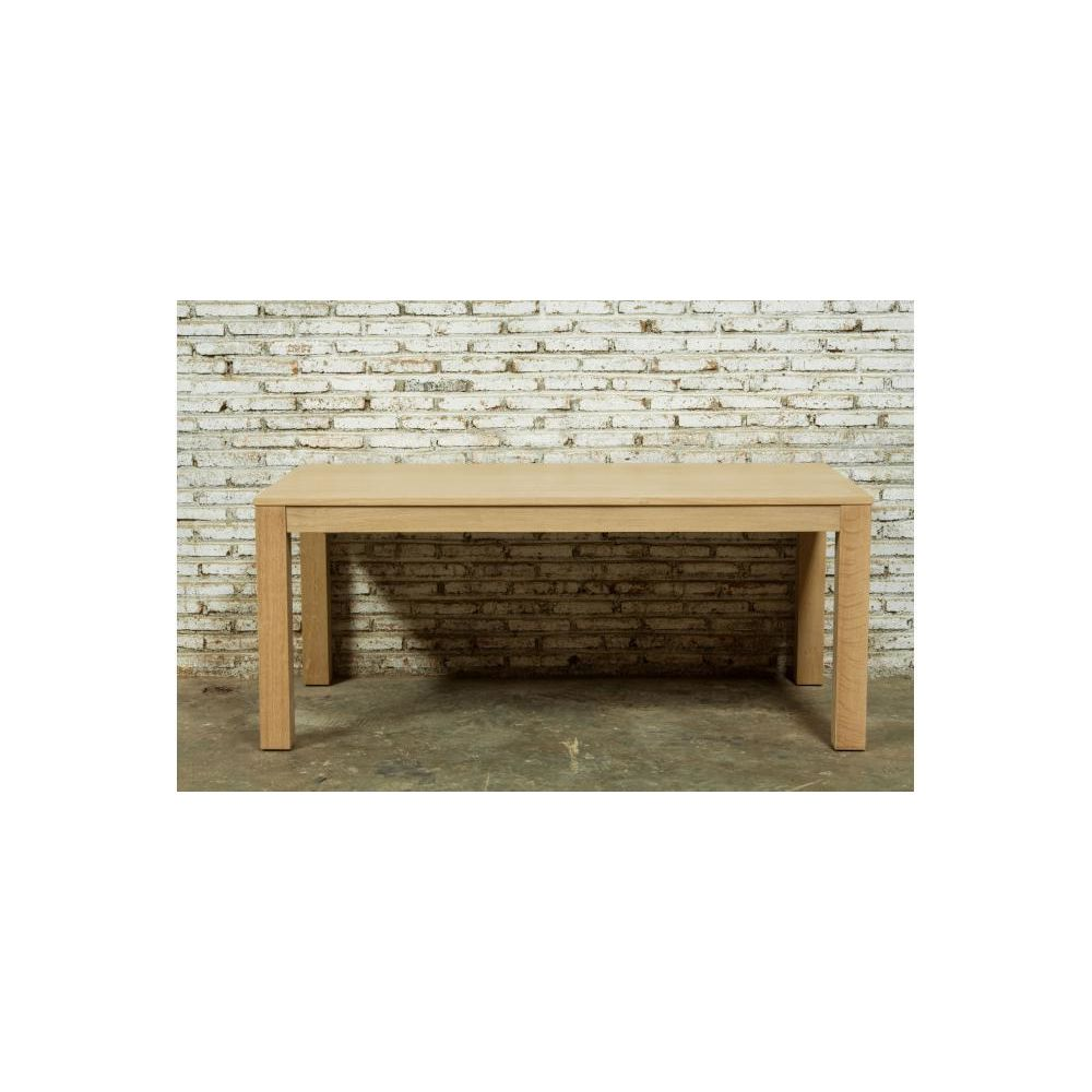 Declikdeco Table A Manger Extensible Chêne Massif 90x180/235 COCHRAN