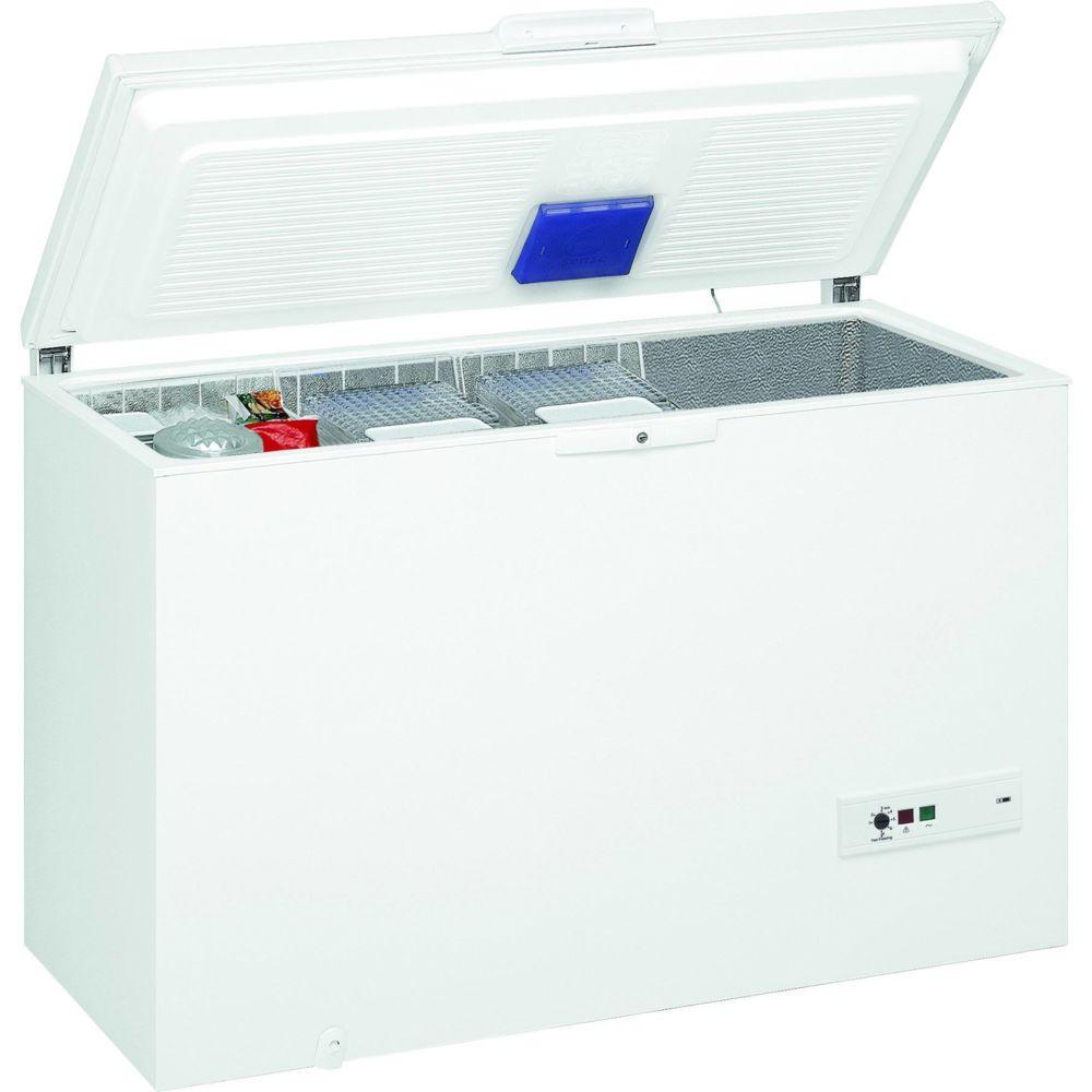 whirlpool whirlpool - congélateur coffre 140cm 390l a++ blanc - whm39112