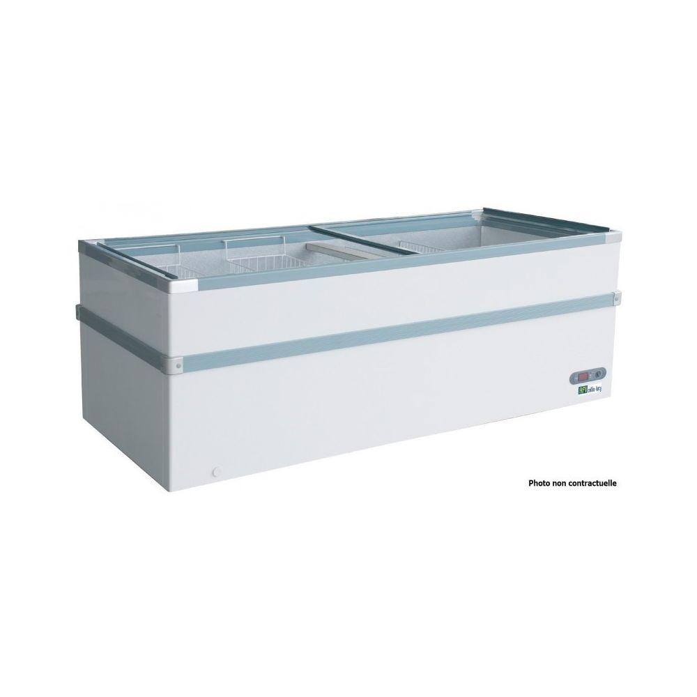 Materiel Chr Pro Congélateur Vitré Portes Coulissantes - 528 à 965 Litres - AFI Collin Lucy - 965 litres 2550 mm