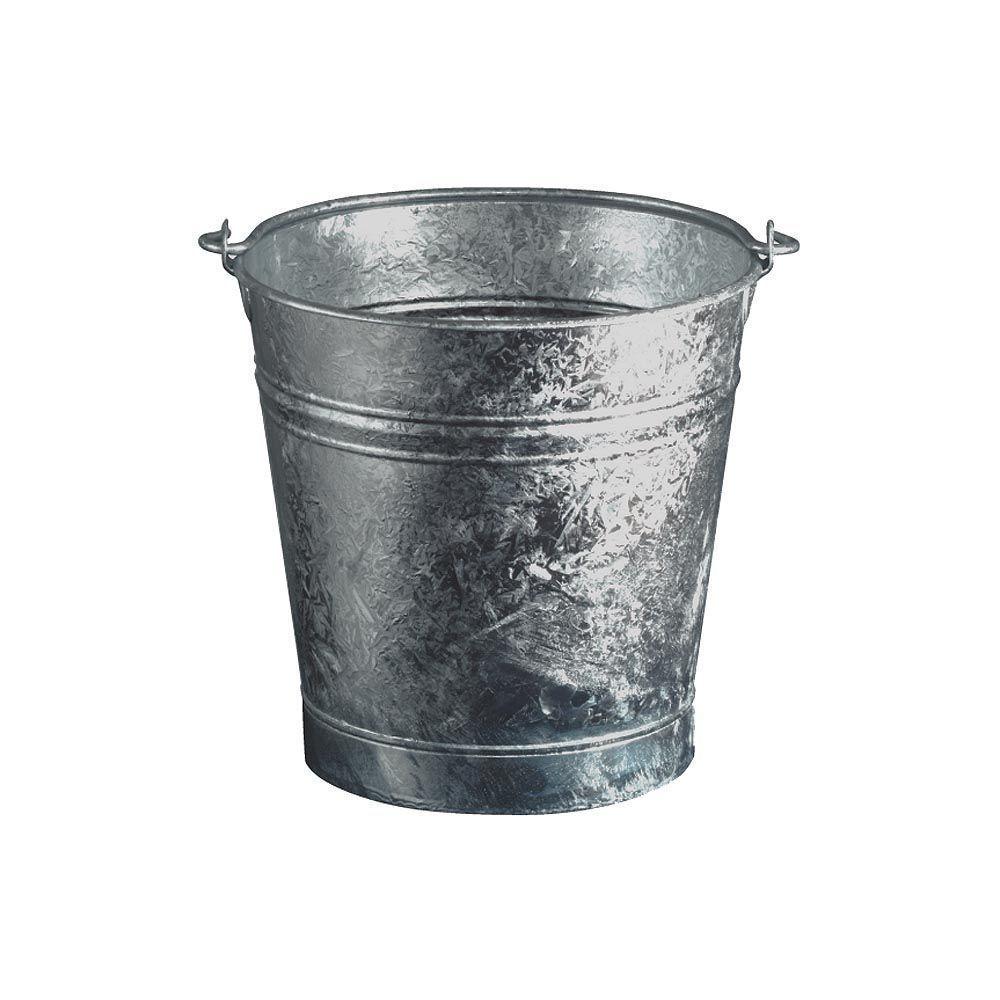 Guillouard Seau en acier galvanisé 13 litres