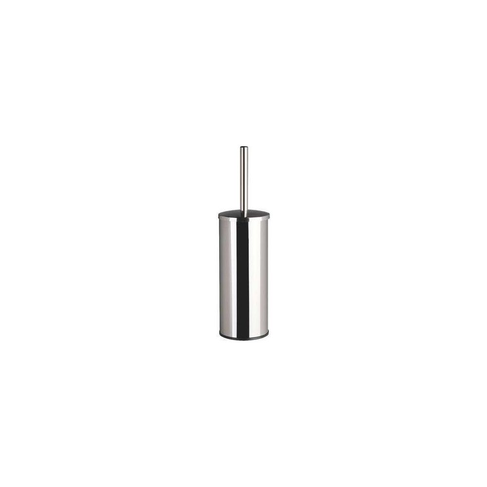 Delabie Delabie 4051P - Pot à balai avec couvercle + balai - Murale - Inox 316 Poli brillant