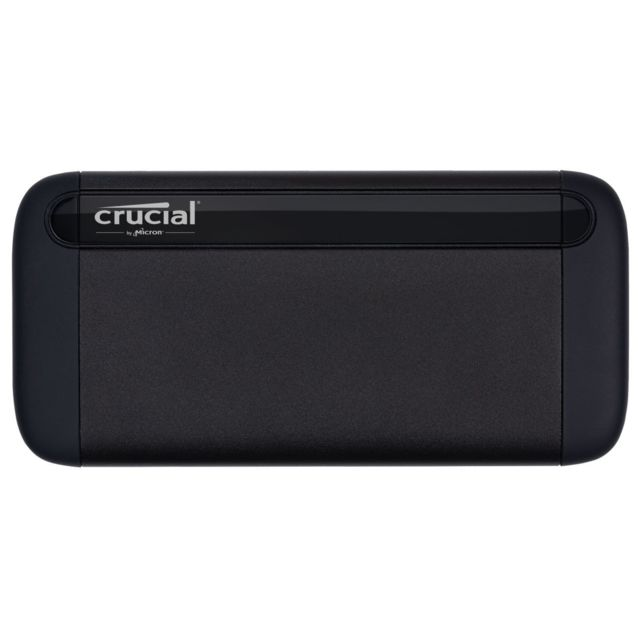 Crucial - X8 PORTABLE - 1 To - USB 3.1 Type A et Type C - Disque SSD