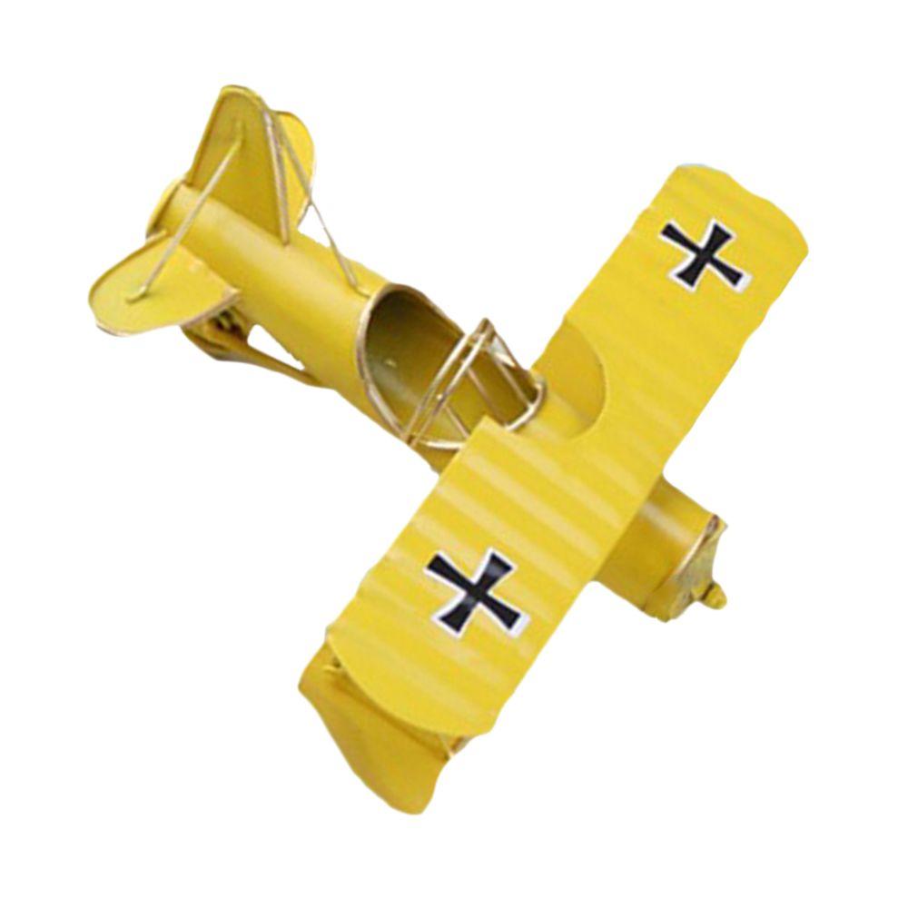 marque generique - Modèle D'avion De Chasse Militaire à Double Aile Vintage Modèles D'avion ...