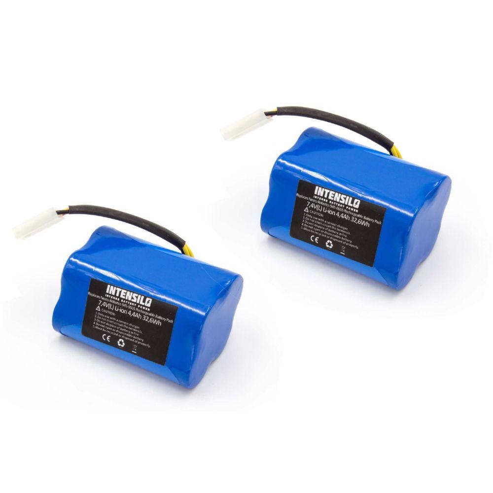 Vhbw INTENSILO 2x batterie compatible avec Neato XV Signature, XV signature pro, XV-11, XV-12 aspirateur Home Cleaner (4400mA