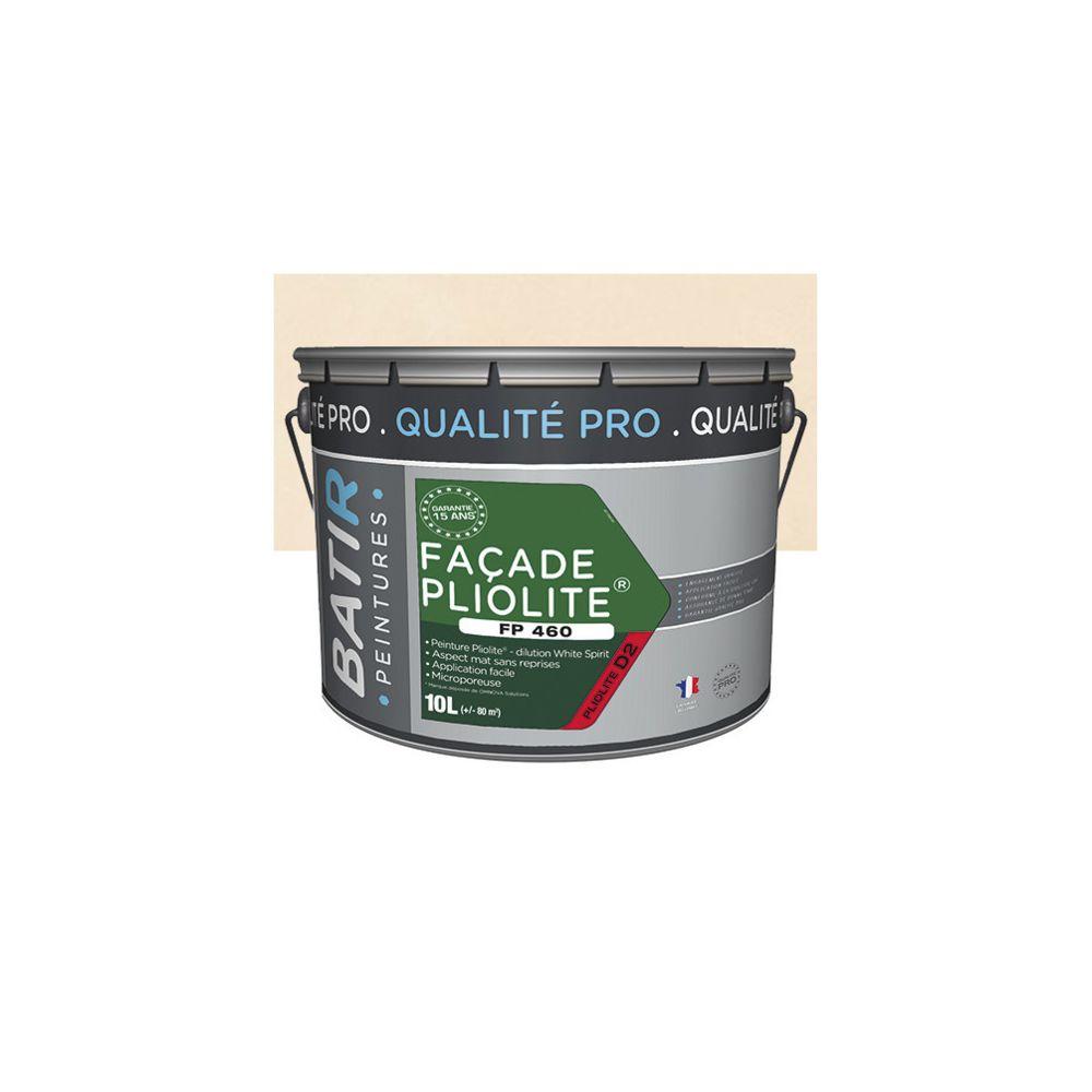 Batir Peintures Peinture pliolite Mat pour façade 10 L - Ton pierre - BAT111203 - Batir